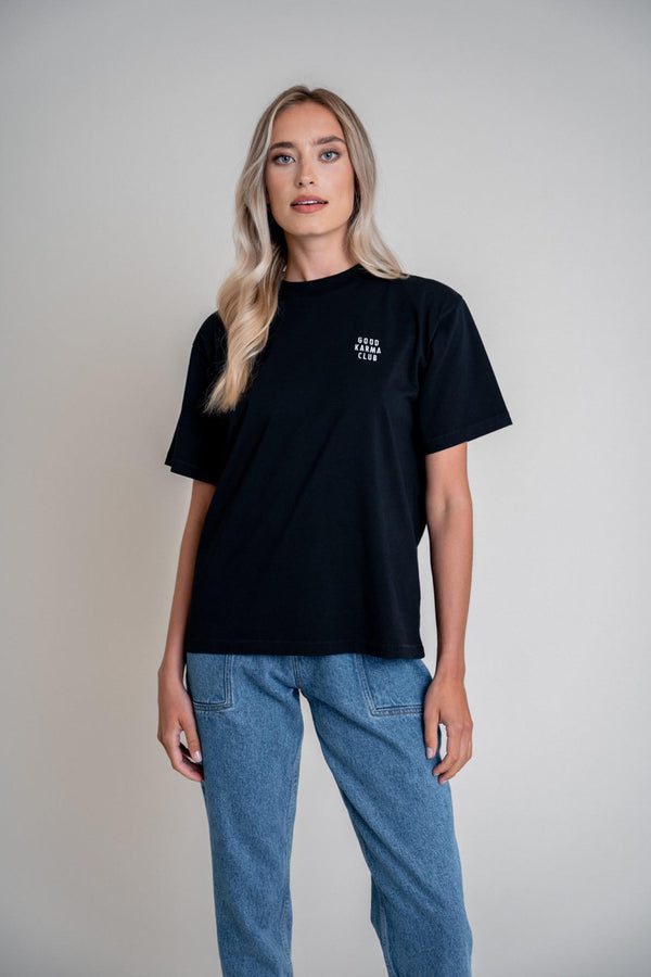 Good Karma Club Shirt Black (6013399564471)