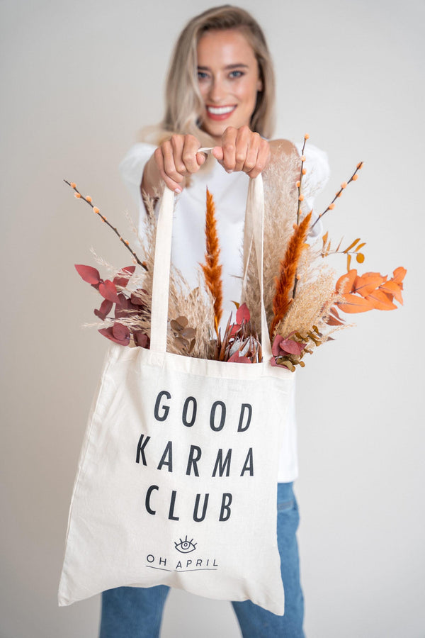 Good Karma Club Shopper Bag (6013394288823)