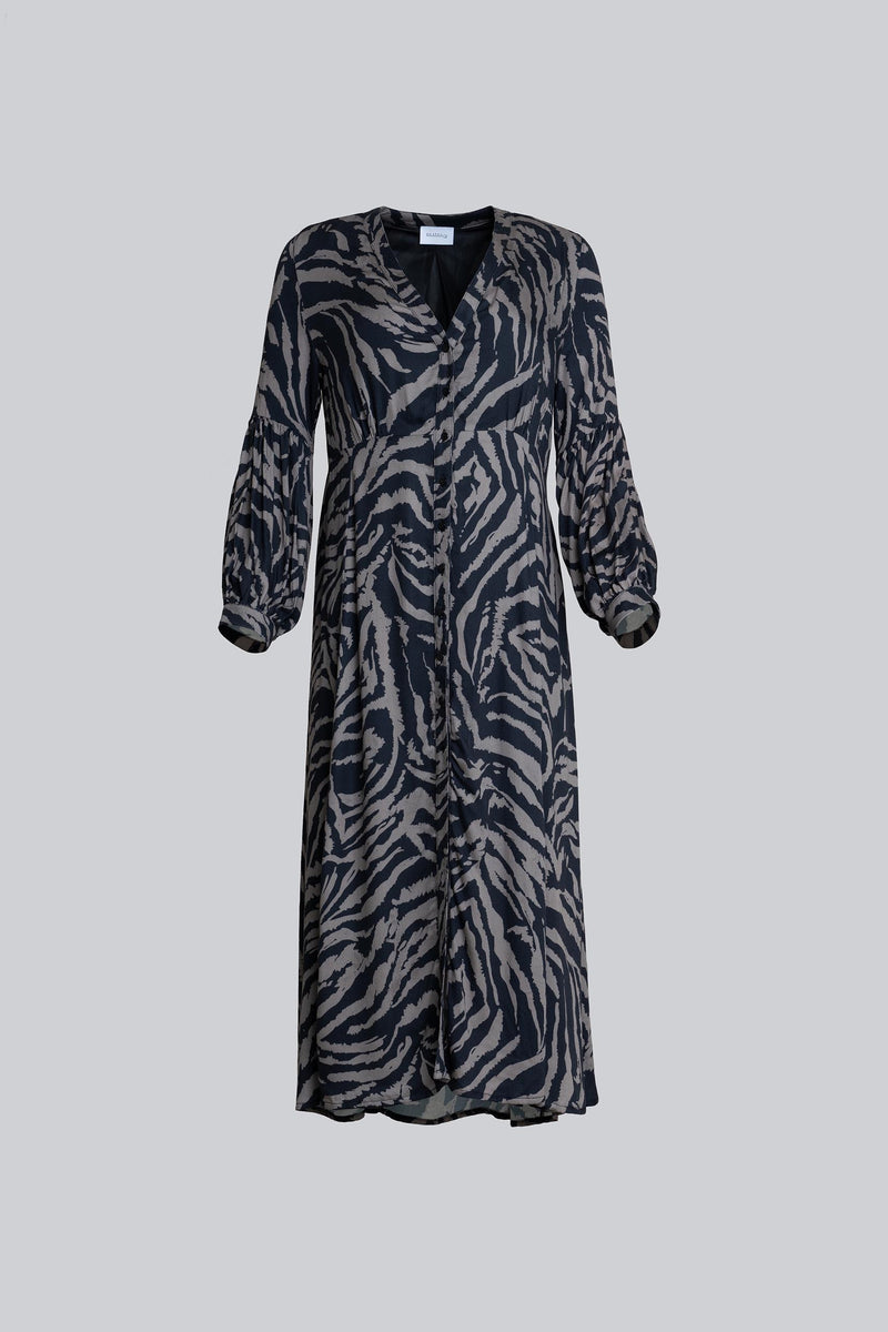 Sienna Dress Khaki Tiger (6013404381367)