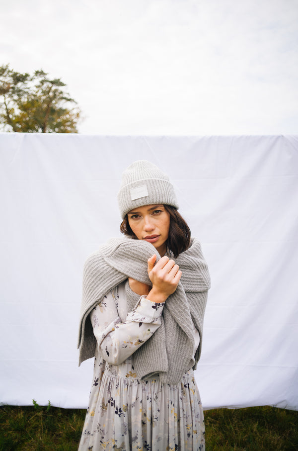 Sasha Beanie Light Grey (6019104178359)