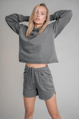 Homewear Sweatshorts Granite Gray (6013350379703)