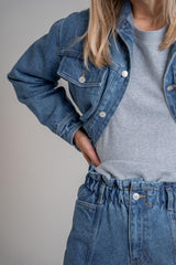 Denim Jacket Light Blue (6013303619767)