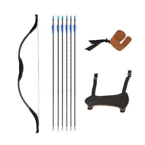 Kids Traditional Bow Arrows Kit