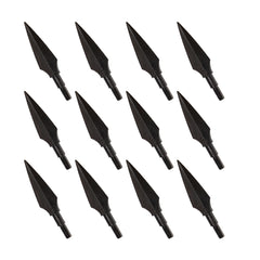12pcs Screw-In Broadheads 150 Grain Traditional Hunting Arrow Head Arrow Archery
