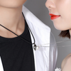 Magnetic Couple Heart Necklace