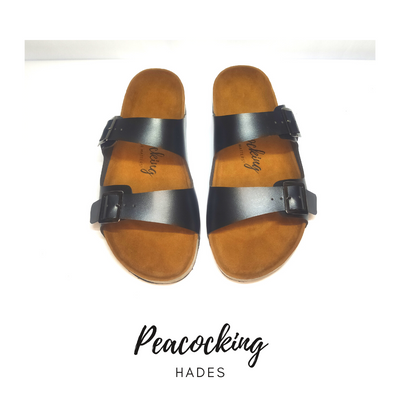 Peacocking Sandal Hades - Black