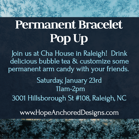Permanent Jewelry in Raleigh