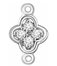 Load image into Gallery viewer, Diamond Flower Link