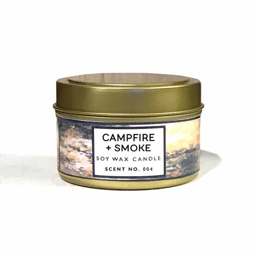 Campfire + Smoke Soy Wax Candle
