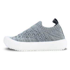 Open image in slideshow, Grey Xplorer knit shoes