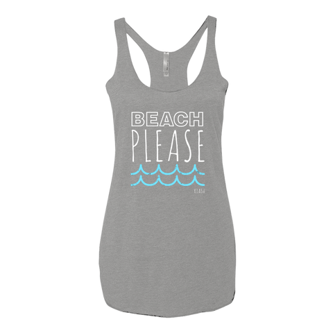 """Beach Please"" Tank"