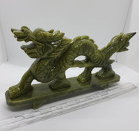 Dragon Carving, Bowenite Serpentine - Highland Rock