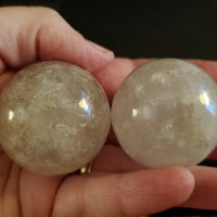 Assorted Quartz Crystal Spheres