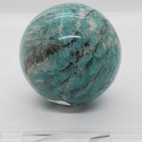 "2.5"" Amazonite sphere - Highland Rock"