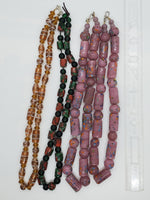 Millefiori Glass Bead Necklace - Highland Rock