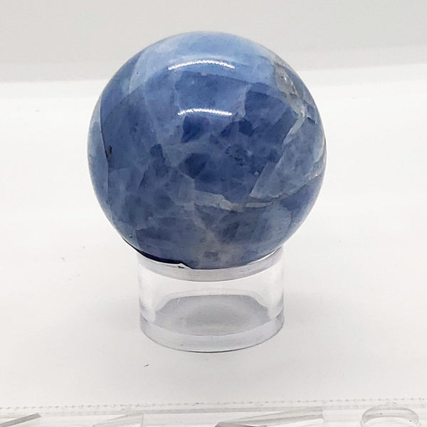 "2"" Blue Calcite Sphere - Highland Rock"