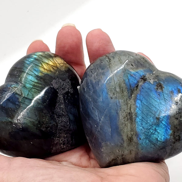 Labradorite, Heart-shaped