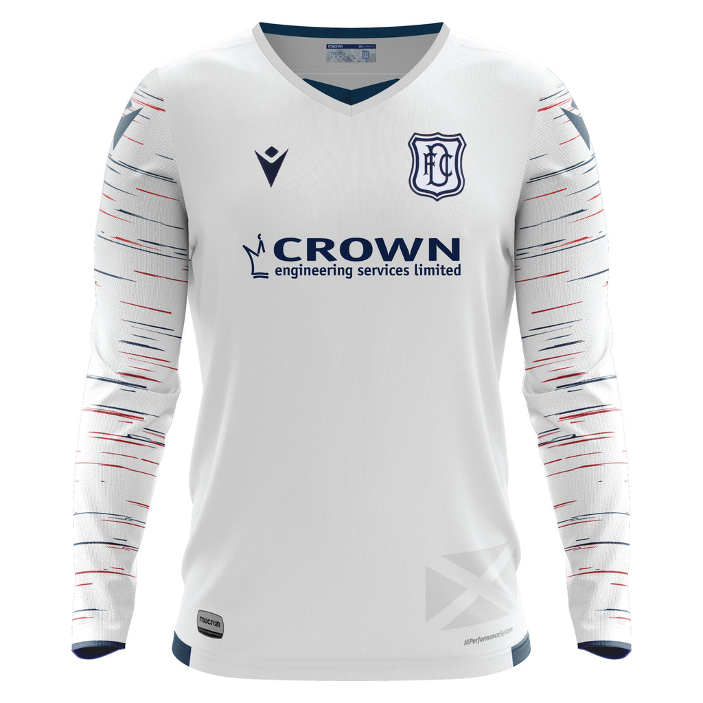 Macron 2020 21 Away Long Sleeved Jersey Dfcdirect