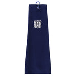 Icon Golf Towel Dark Blue