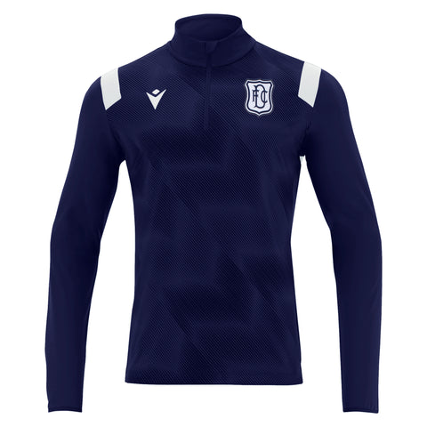 Macron Pro Training 1/4 Zip Top Dark Blue