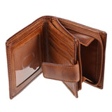 Leather Wallet Ridgeback Brown