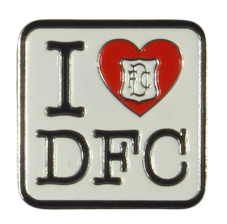 I Love DFC Pin Badge