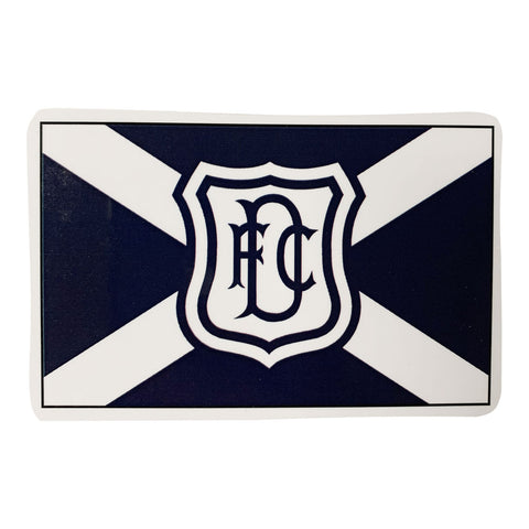 Wooden Fridge Magnet Saltire
