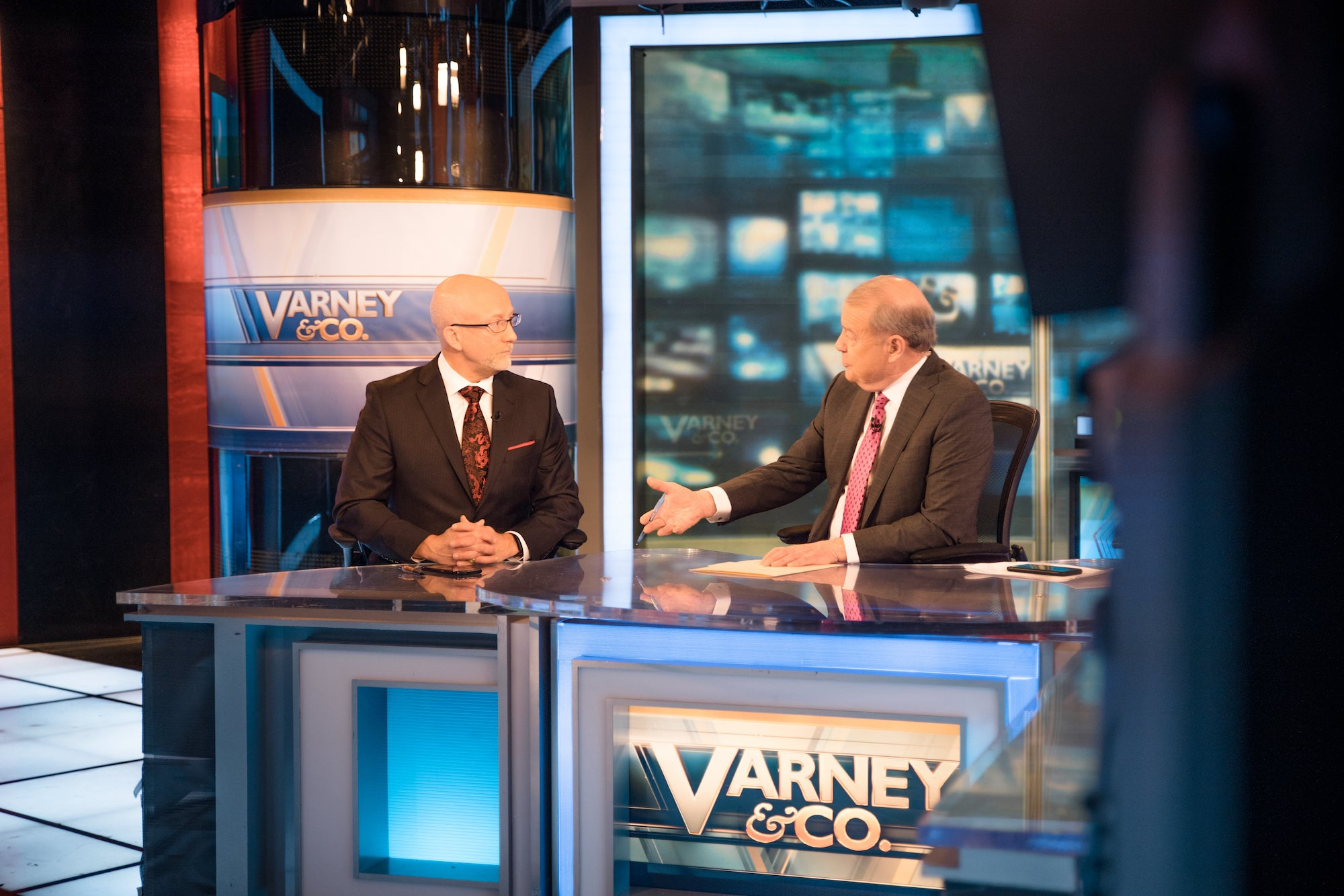Keith Fitz-Gerald and Stuart Varney
