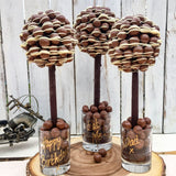 Load image into Gallery viewer, Chocolate Sweet Tree - Maltesers With White Chocolate Drizzle