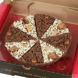 Load image into Gallery viewer, 7 Inch Double Delight Chocolate Pizza