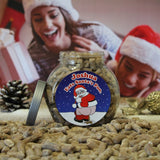 Load image into Gallery viewer, Personalised Jar of Christmas Poo Sweets