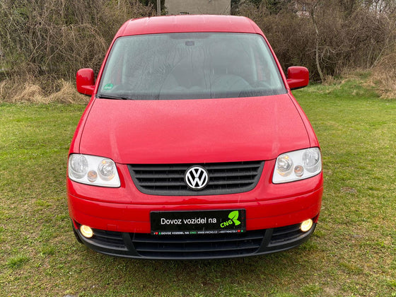 Volkswagen Caddy EcoFuel (TOP STAV)