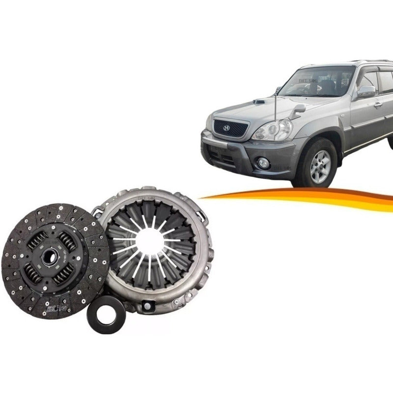 Kit De Embrague Hyundai Terracan 2001 2005 2,5
