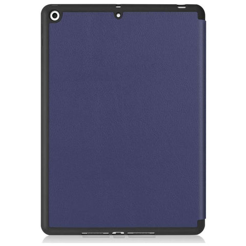 Just in Case Apple iPad 10.2 2019/2020 Smart Tri-Fold Case With Pen Slot Navy