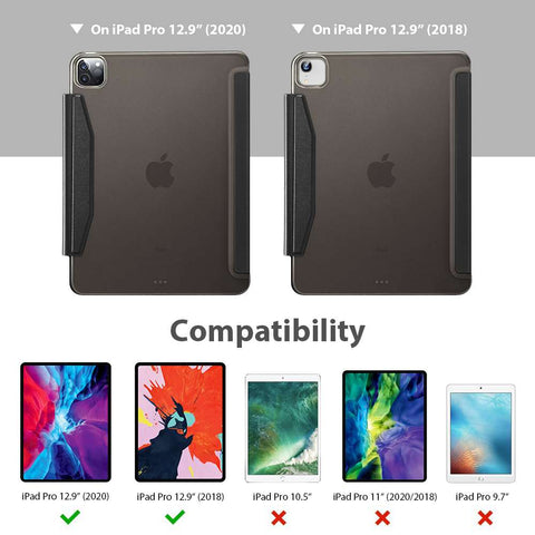 ESR Apple iPad Pro 12.9 2020 Yippee Color Case - Zwart