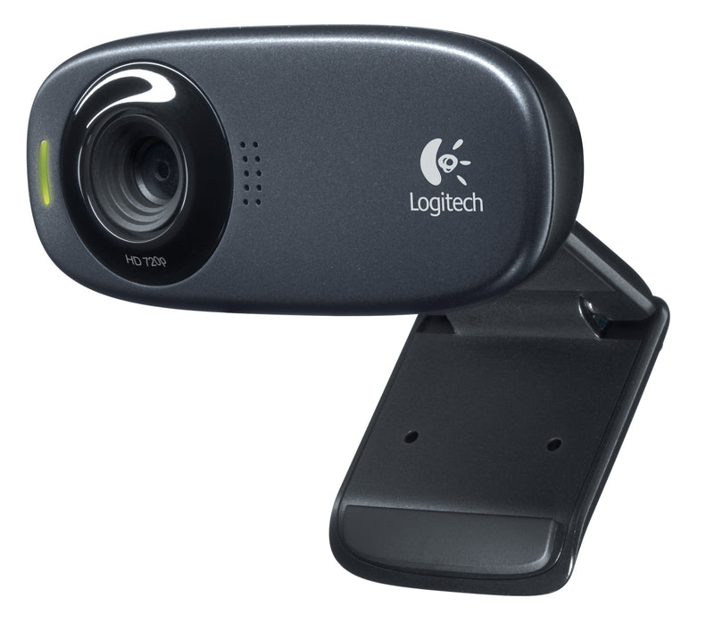 Logitech C310 Webcam - Zwart