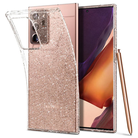 Spigen Liquid Crystal Glitter Case Samsung Galaxy Note 20 Ultra - Transparant
