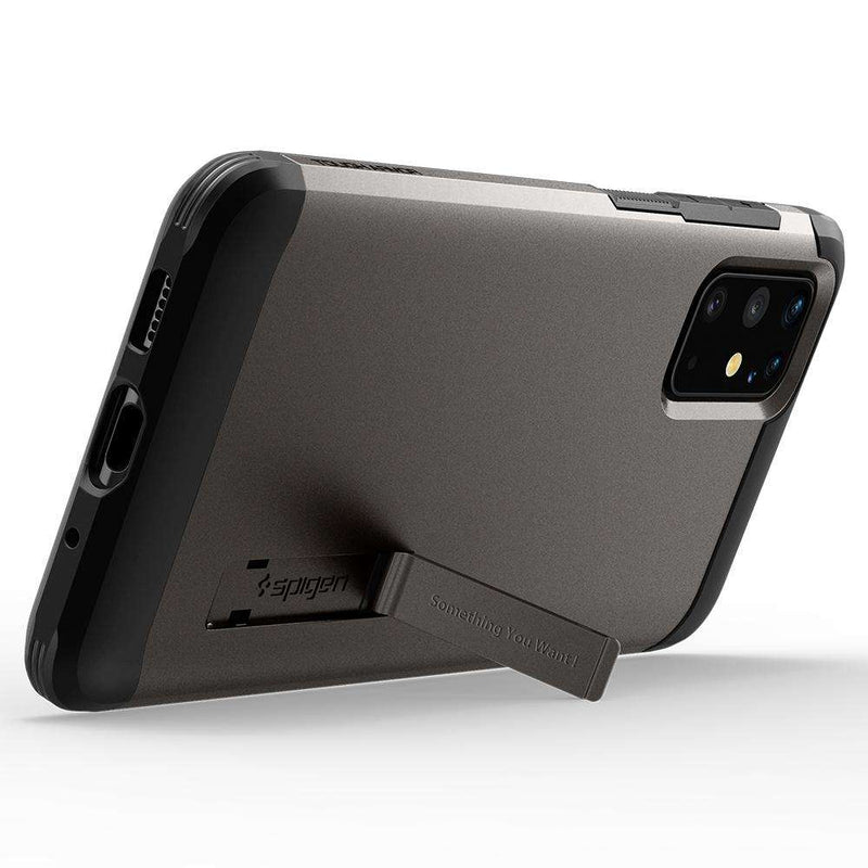 Samsung Galaxy S20 Plus Spigen Tough Armor Hoesje Grijs