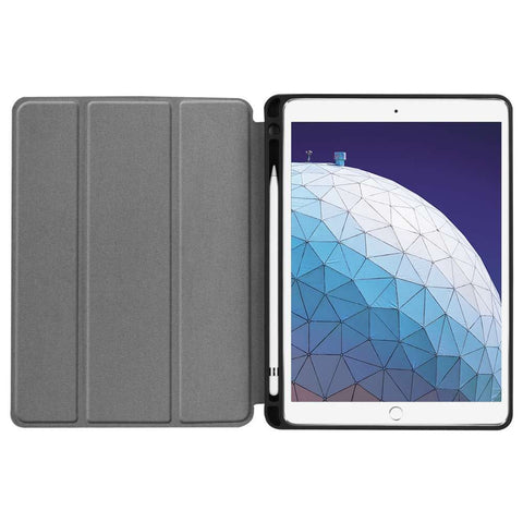Just in Case Apple iPad Air 3 2019 Smart Tri-Fold Case With Pen Slot Navy