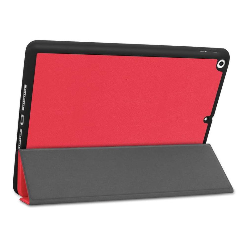 Just in Case Apple iPad 10.2 2019/2020 Smart Tri-Fold Case With Pen Slot Rood