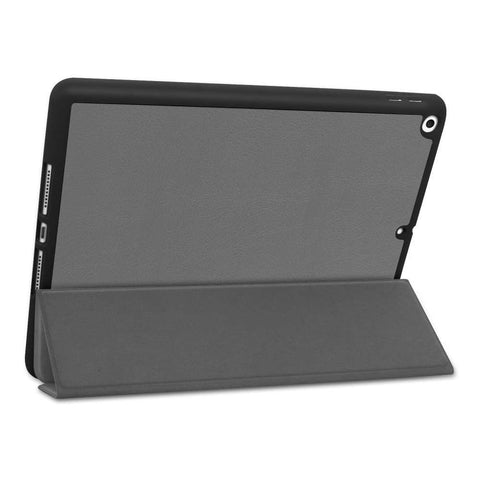 Just in Case Apple iPad 10.2 2019/2020 Smart Tri-Fold Case With Pen Slot Grijs