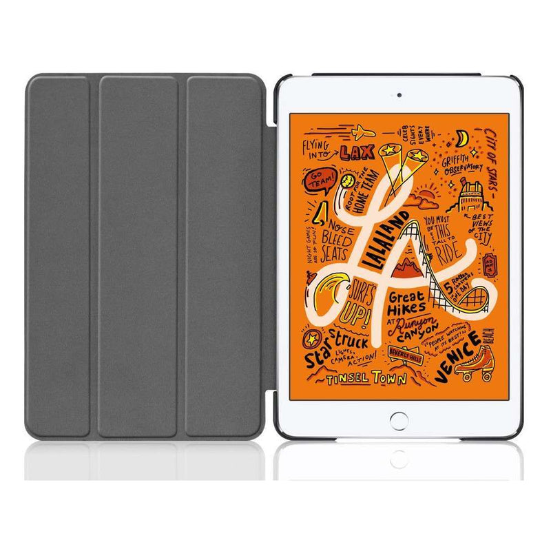 Just in Case Apple iPad Mini 2019 Smart Tri-Fold Case Grijs