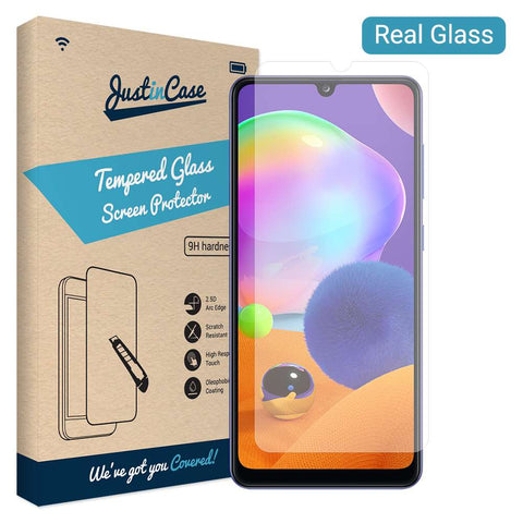 Just in Case Tempered Glass Samsung Galaxy A31