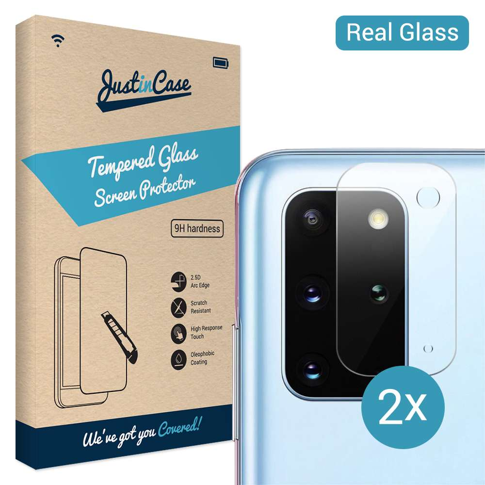 Tempered Glass Samsung Galaxy S20 Plus Camera Lens 2 stuks