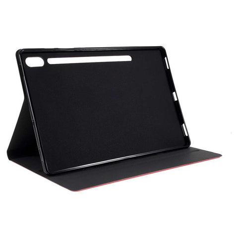 Just in Case Samsung Galaxy Tab S6 Leather Protective Case Rood