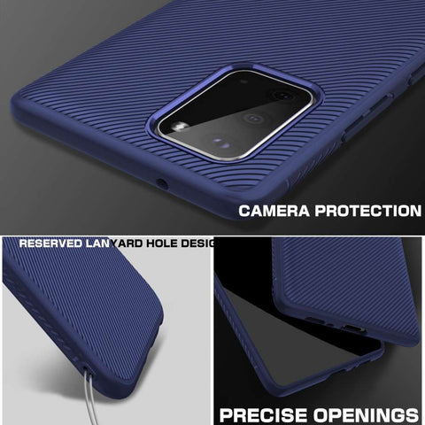 Just in Case Texture TPU Samsung Galaxy S20 Case (Blue)