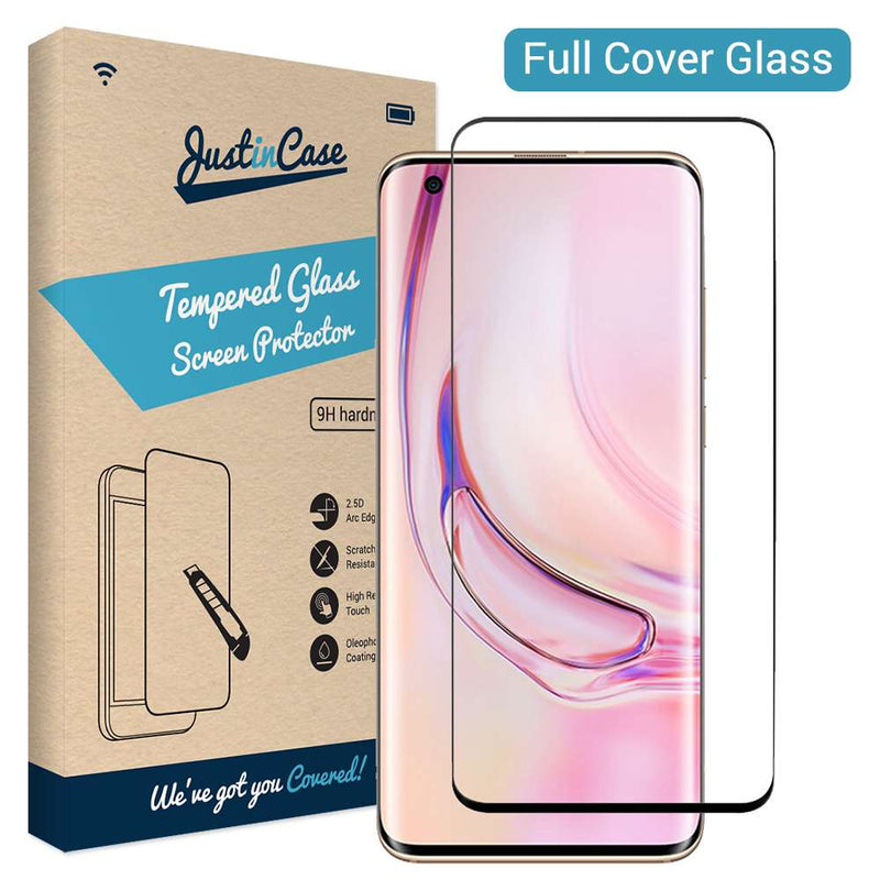 Full Cover Tempered Glass Xiaomi Mi 10 / Mi 10 Pro Zwart