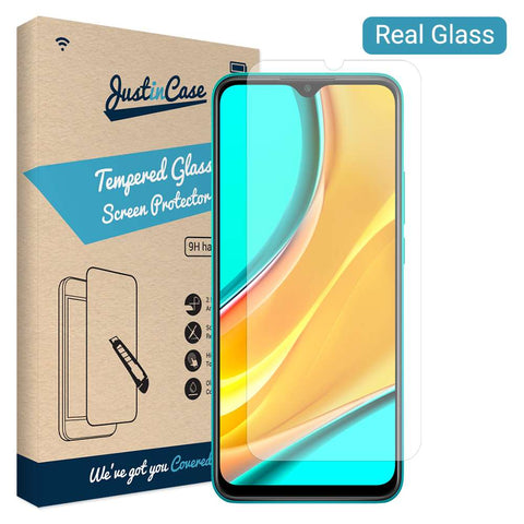 Tempered Glass Xiaomi Redmi 9 - Transparant