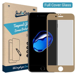 Full Cover Tempered Glass Apple iPhone 7/8 Plus - Goud