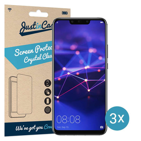 Just in Case Screen Protector Huawei Mate 20 Lite - 3 Pack